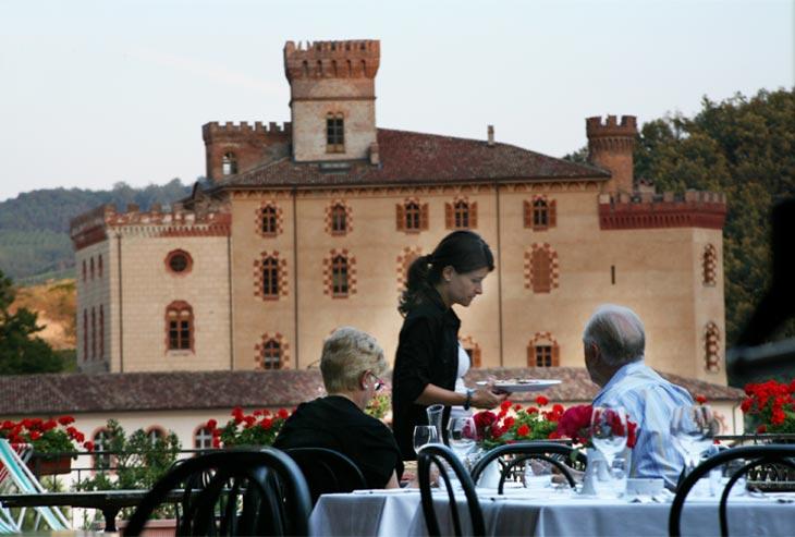 Il ristorante hotel Brezza