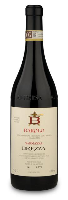 Barolo DOCG Sarmassa-Brezza