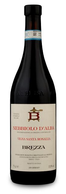 Nebbiolo Alba DOC Vigna Santa Rosalia-Brezza